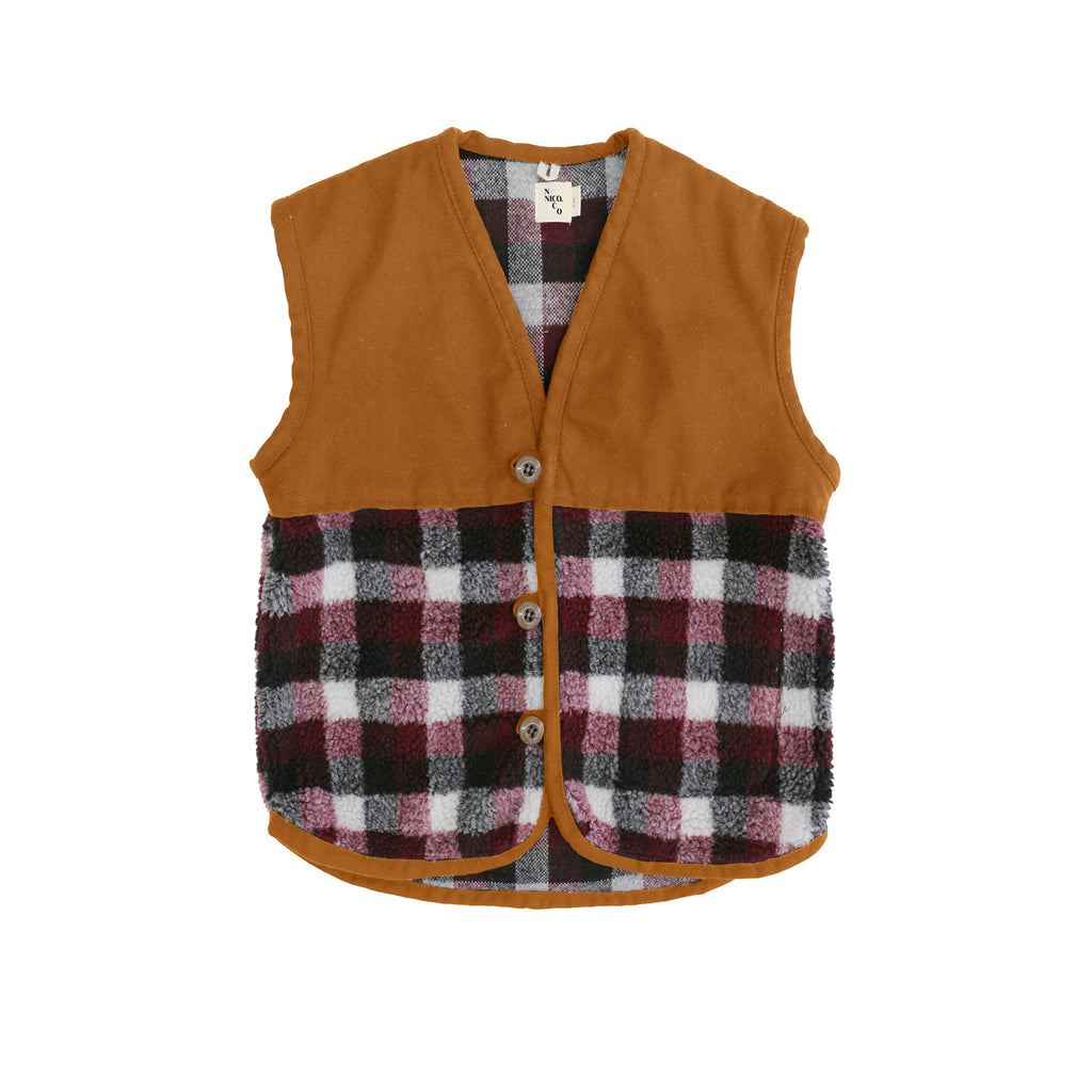 Kurt Plaid Vest