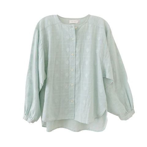 Mae Button Up Mint