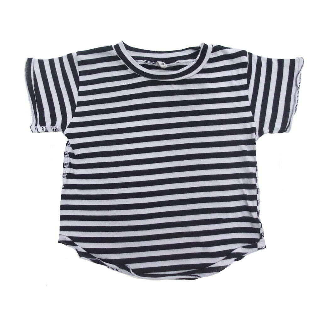 Milos Striped Short Sleeve Tee