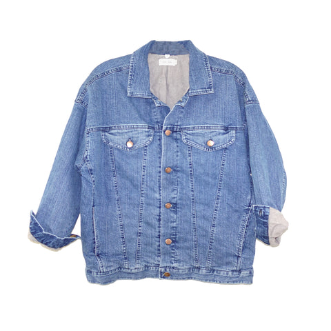 WMN MINOR DENIM JACKET - Mineral Wash