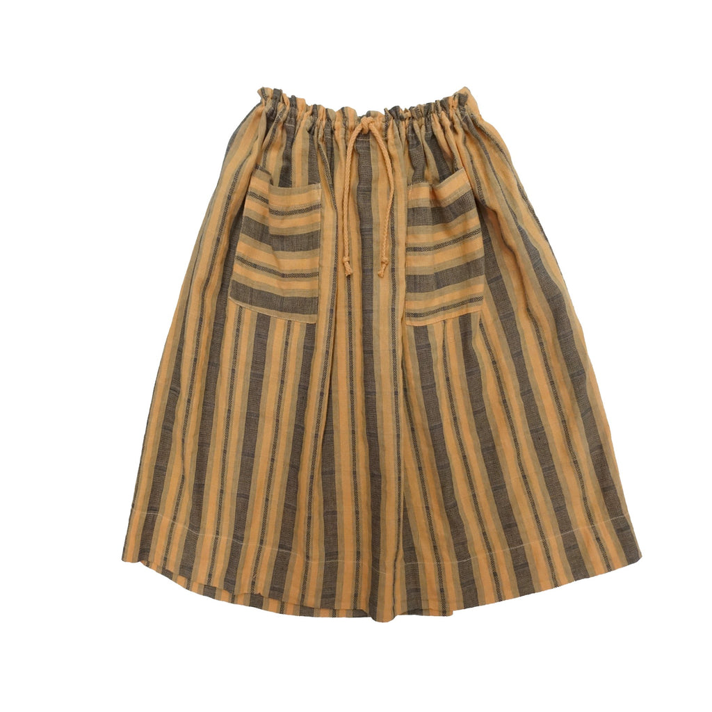Petra 2-Pocket Sailor Stripe Skirt