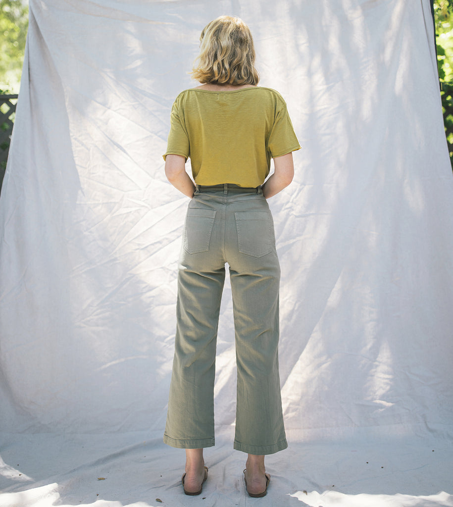 Solar High Waisted Jean Fern