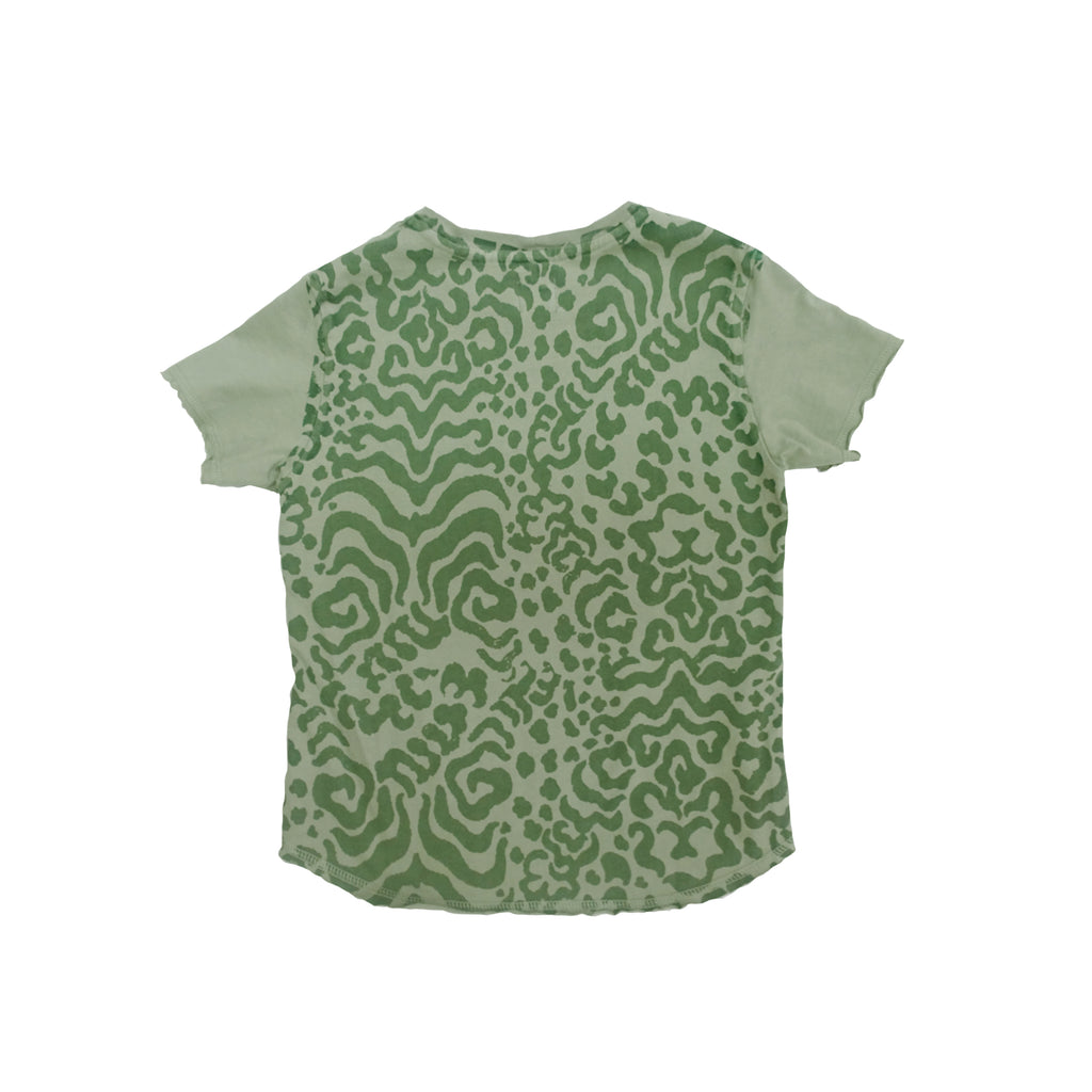 Tiger Print Short Sleeve