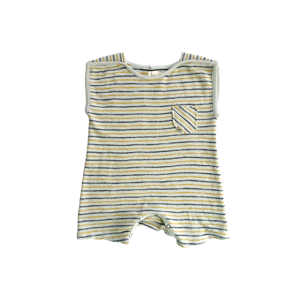 Vi Infant Striped Romper