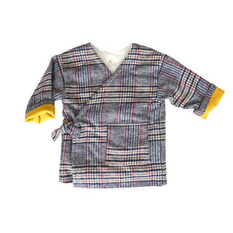 Che Plaid Reversible Jacket