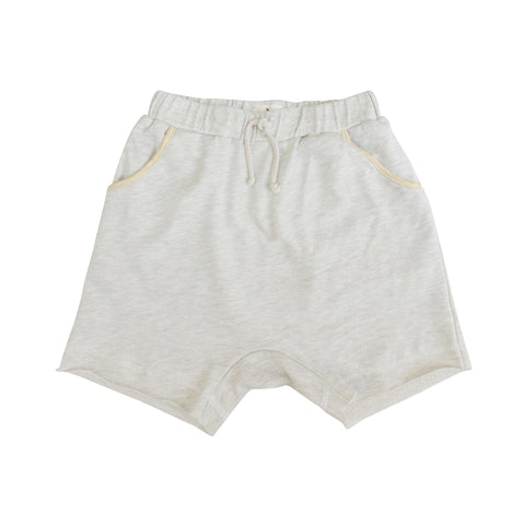 Dani Heathered Harem Short ~ Natural
