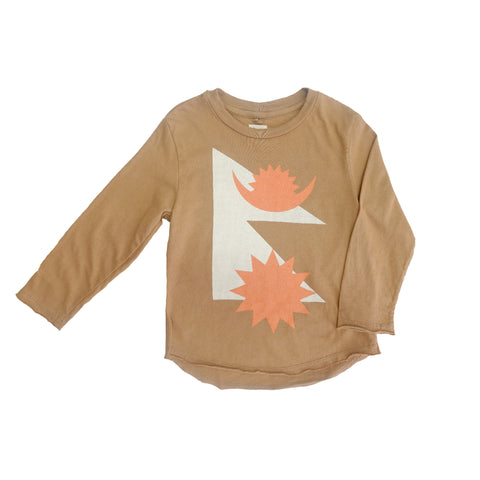 Flag Print Long Sleeve