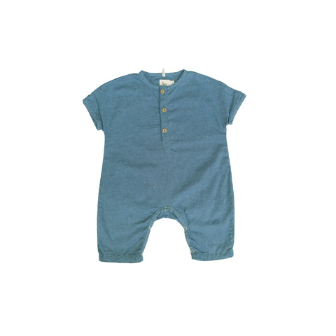 Hero Henley Chambray Jumper