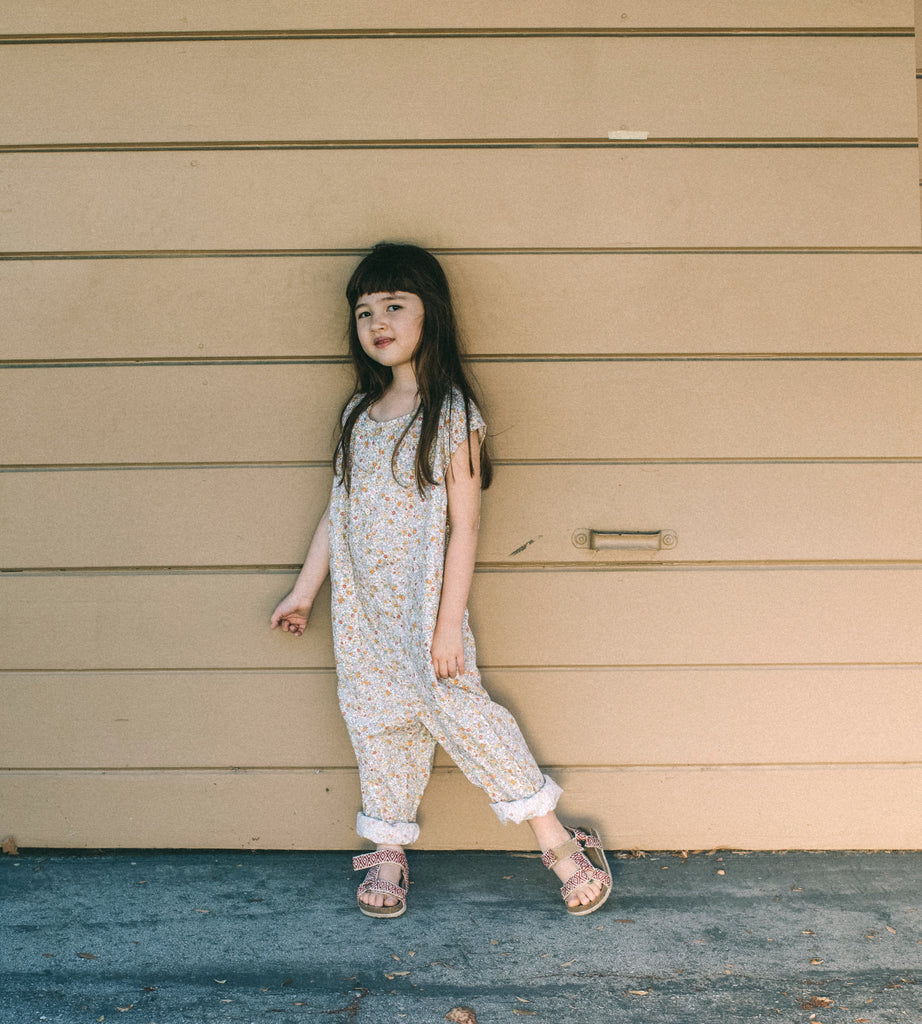 Julez Linen Jumpsuit ~ Love