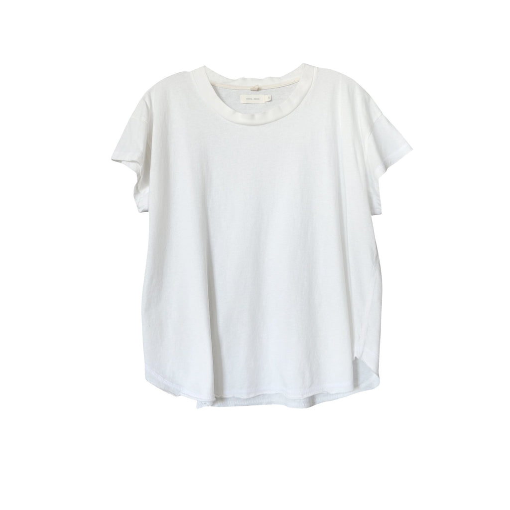 Kenzie Short Sleeve Tee White