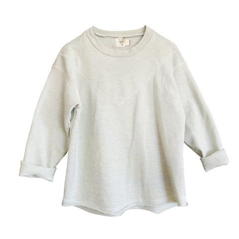 Neve Heathered Pullover ~ Natural