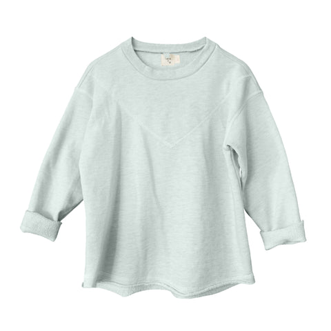 Neve Heathered Pullover ~ River
