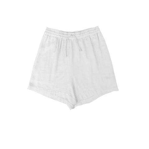 Rae Drawstring Short White