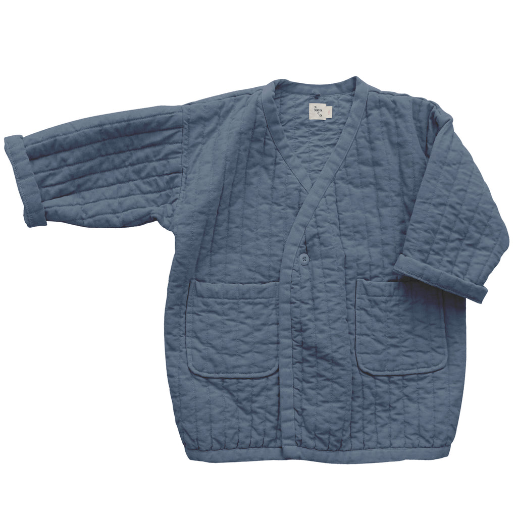 Sterling Quilted Coat Storm