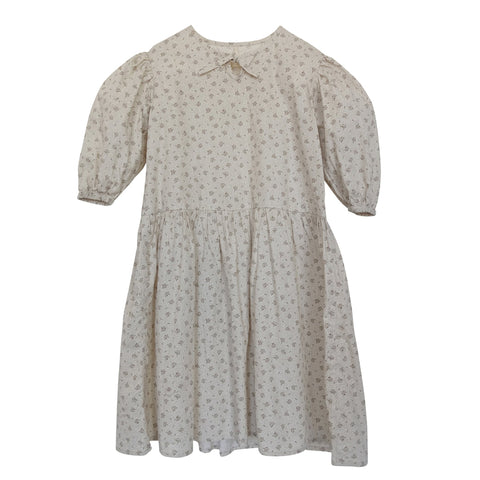 Sylvie Printed Puff Sleeve Dress