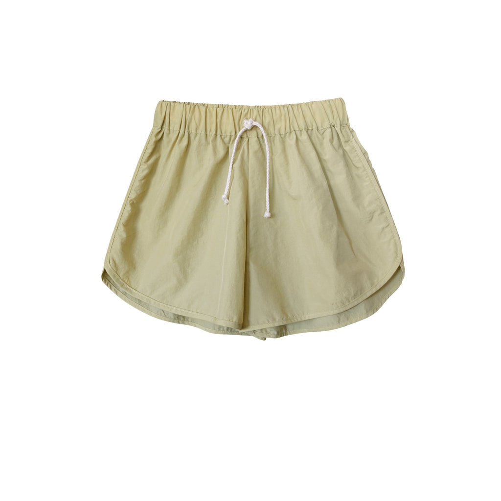 Zeb Nylon Runner Short Gold