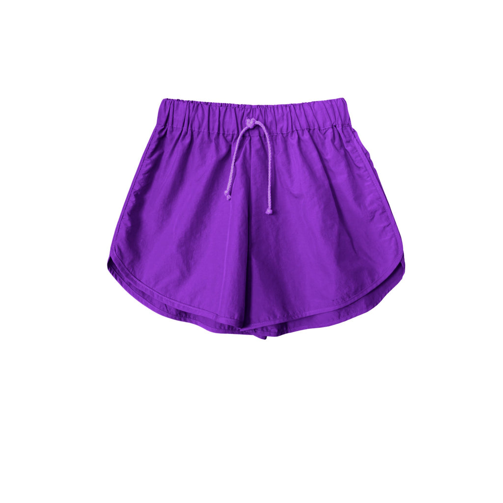 Zeb Nylon Runner Short Purple