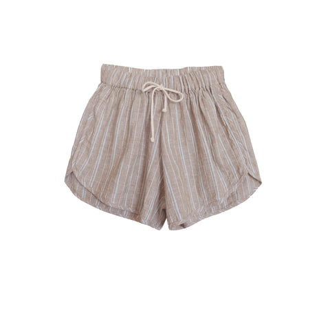 Zeb Stripe Runner Short Khaki