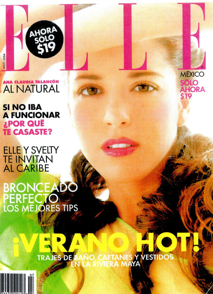 Elle Mexico July 2004