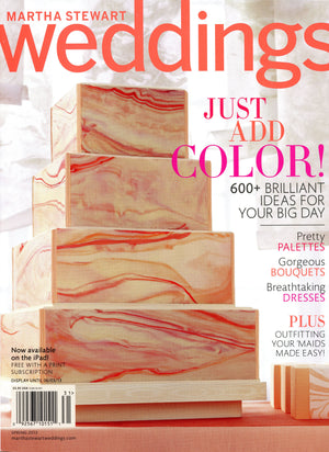 Martha Stewart Weddings Spring 2013