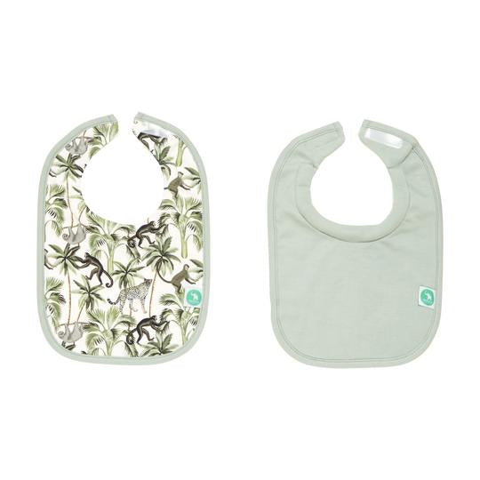 All4AElla - Bibs 2 pack -  Monkey