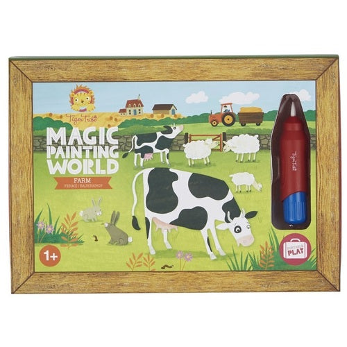 Magic Painting World - Farm - Tiger Tribe