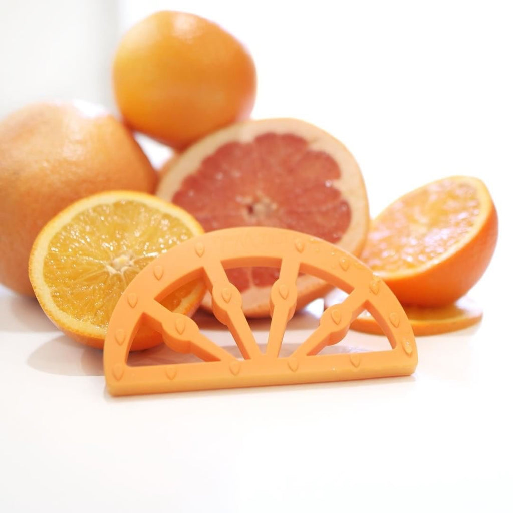 Little Woods - Citrus Fruit Silicone Teething Toy