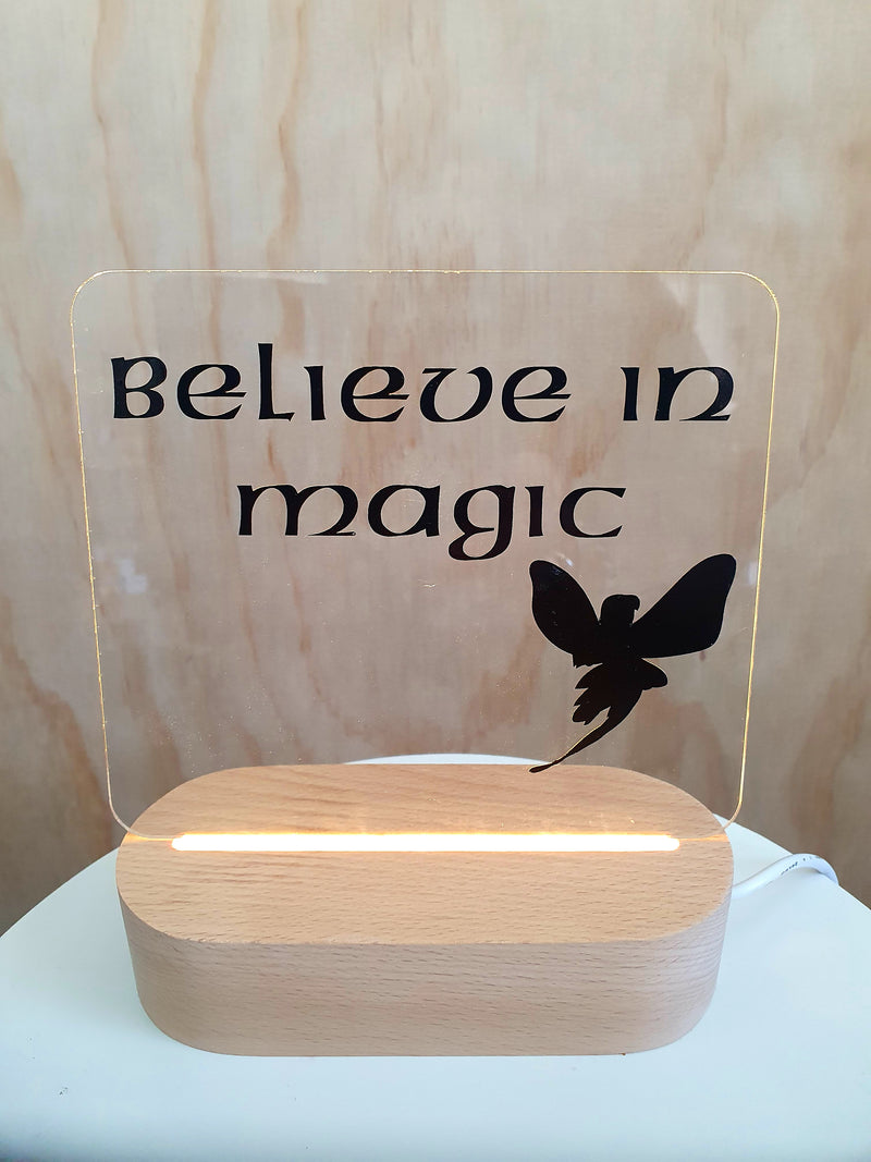 Believe in Magic - LED lamp