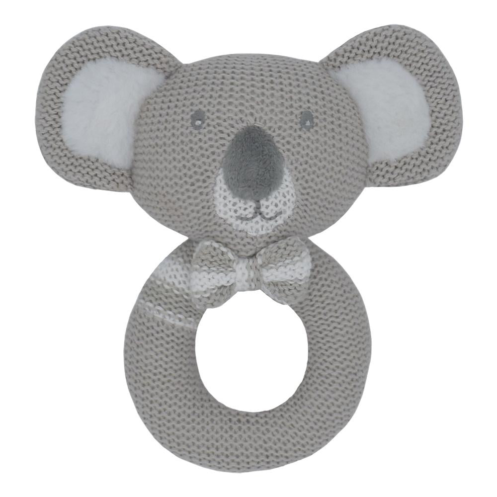 Living Textiles - Kevin The Koala Knitted Rattle