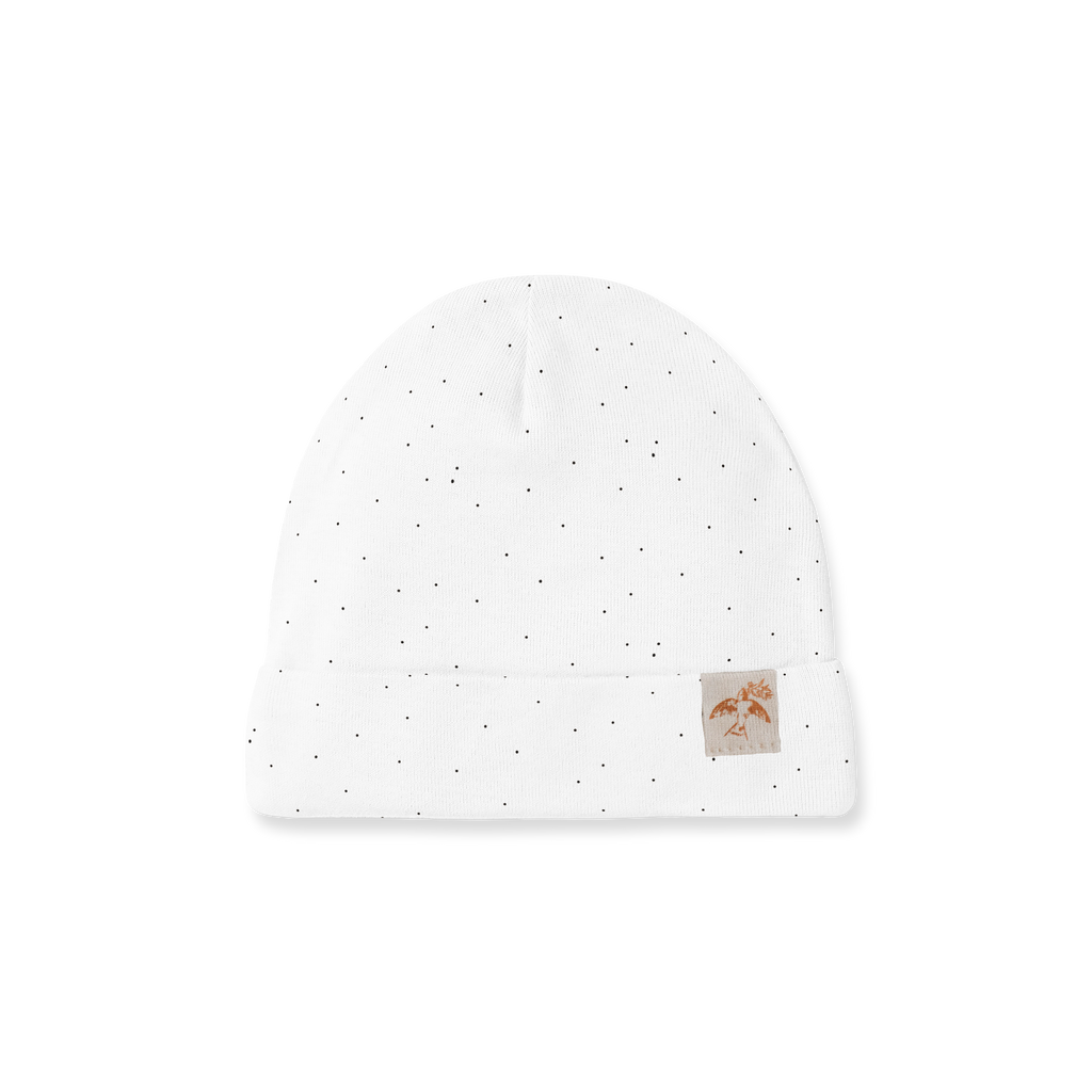 Piper Bug Newborn Hats - Snow Dotty (PRE-ORDER END OF OCT)
