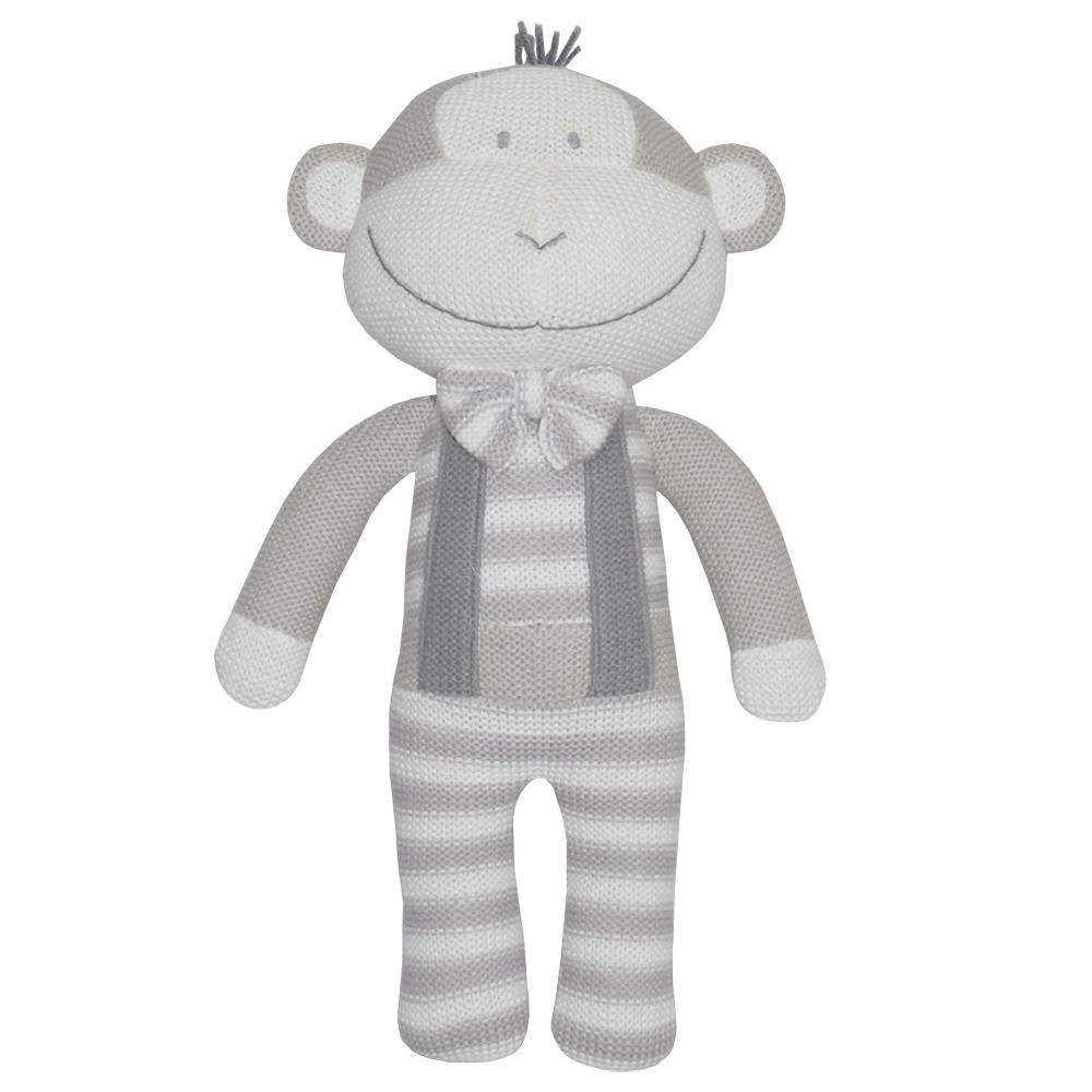 Living Textiles - Max The Monkey Knitted Toy