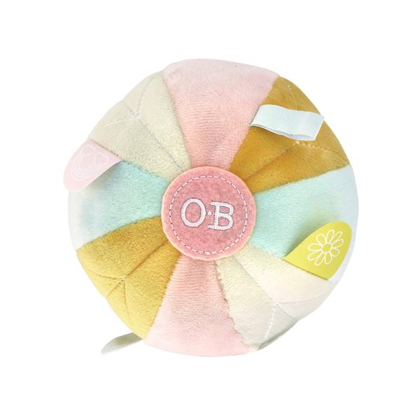 OB Designs - Baby Sensory Ball Autumn Pink