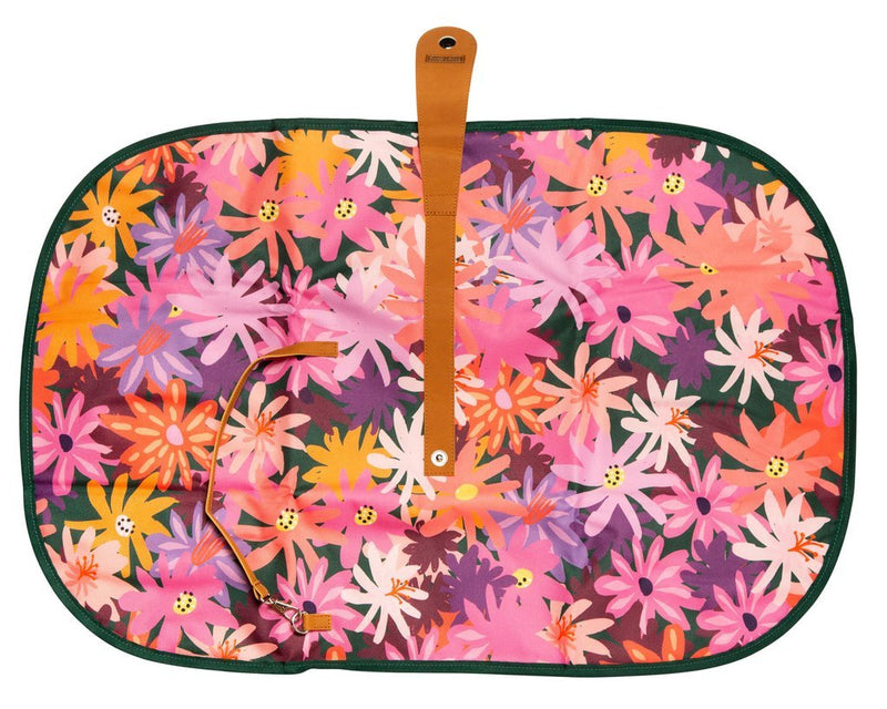 Livvy + Harry Baby Travel Change Mat - Colourpop Floral