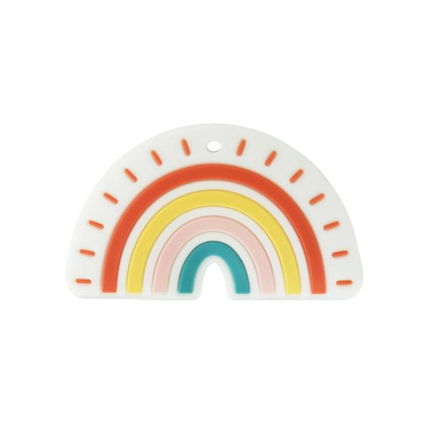 Eco-Friendly Rainbow Teether Toy