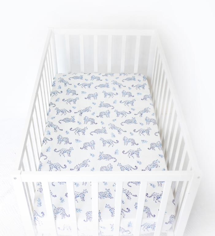Anchor & Arrow Fitted Cot Sheet