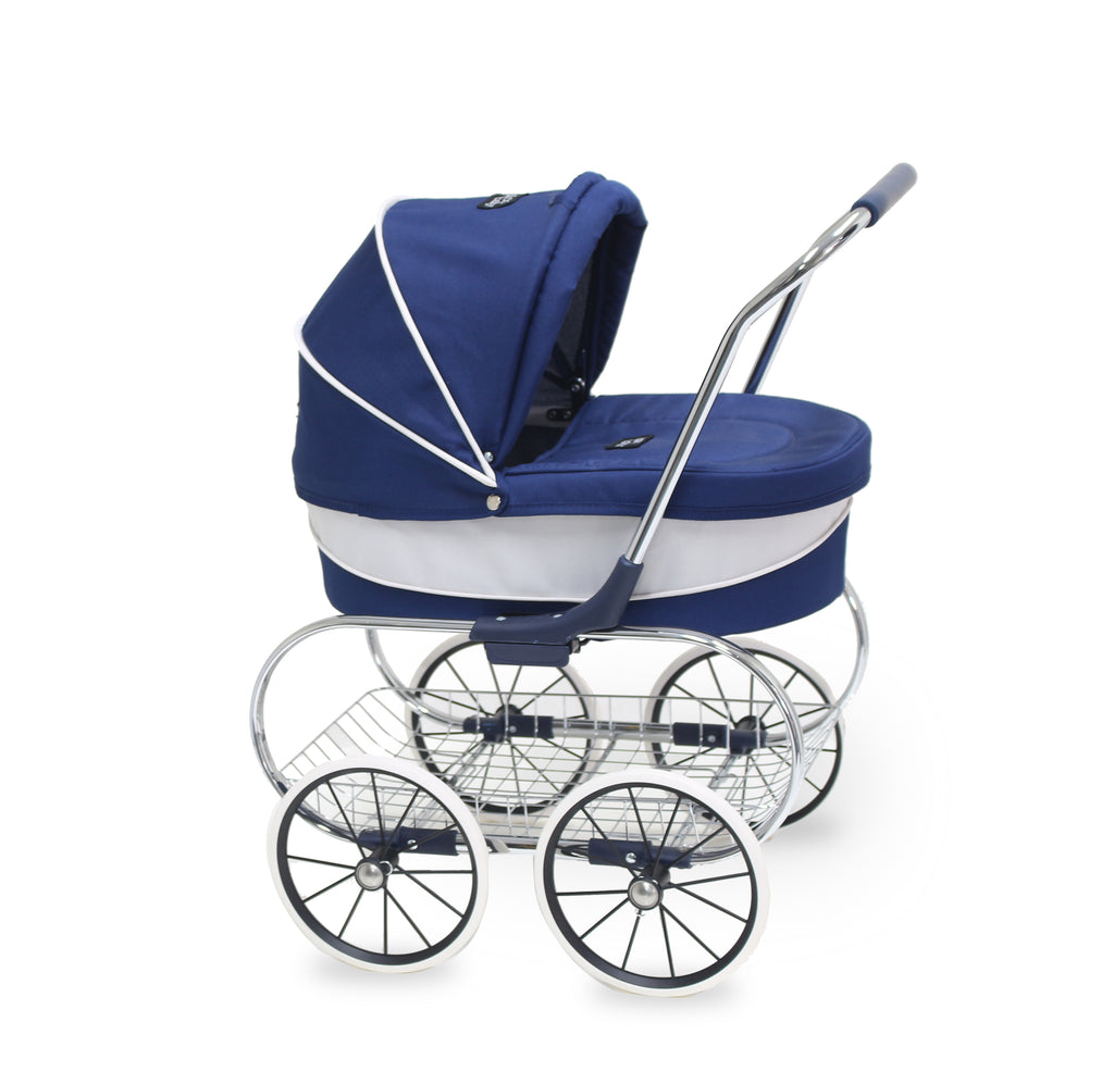 Valco Baby Just Like Mum - Princess Dolls Pram - Navy
