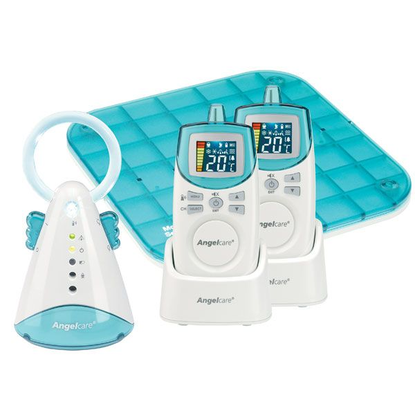 Angelcare Sound & Movement Monitor 2 Parent Unit AC402P (with Single Sensor Pad)