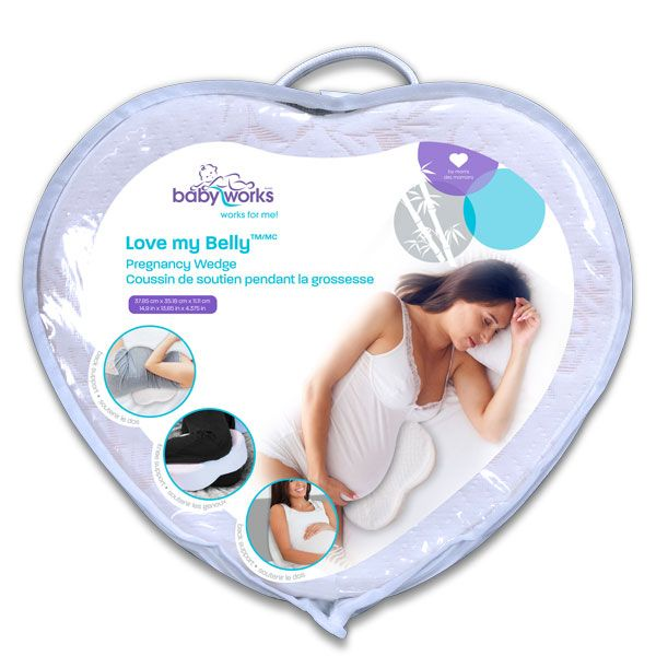 Baby Works - Love My Belly Pillow
