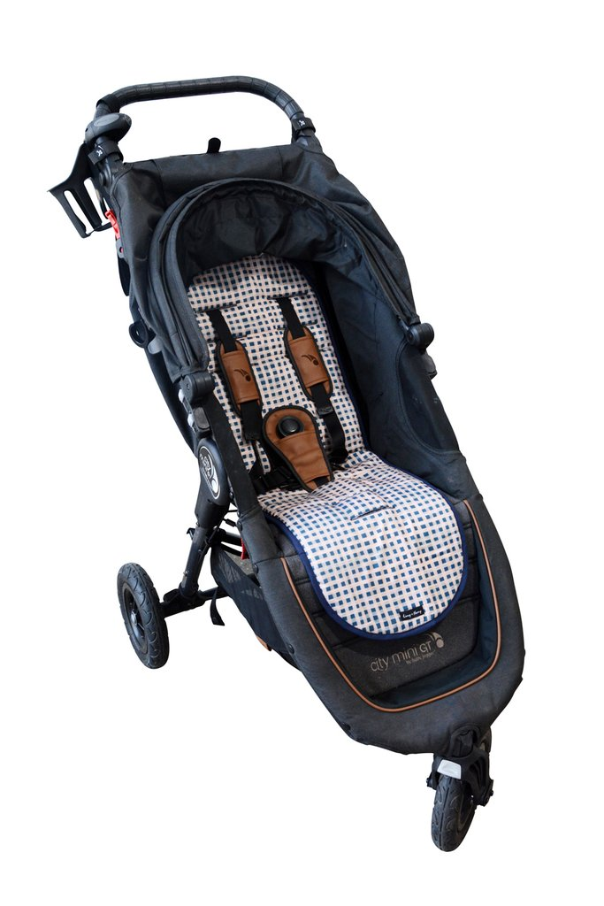 Livvy + Harry Luxe Pram Liner - Classic Gingham