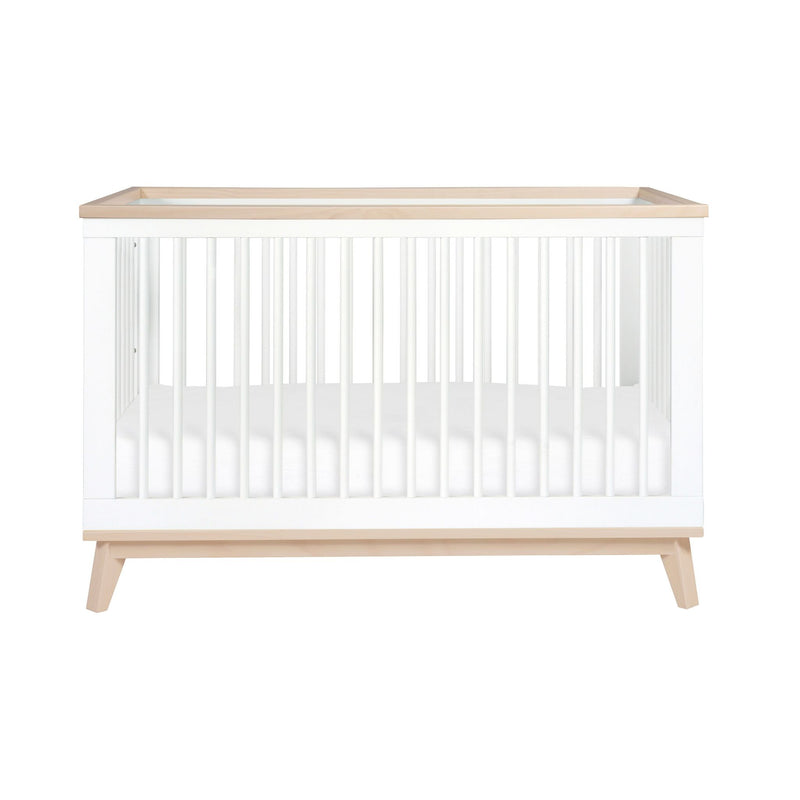 Babyletto Scoot Convertible Cot ( 2 Colours ) pre-order whitw/washed natural due end November