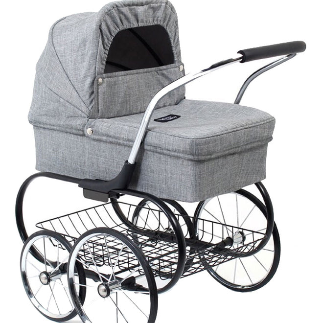 Valco Baby Just Like Mum - Royale Doll Stroller - Grey Marle