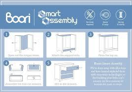 Boori Provence 3 Drawer Smart Assembly Chest