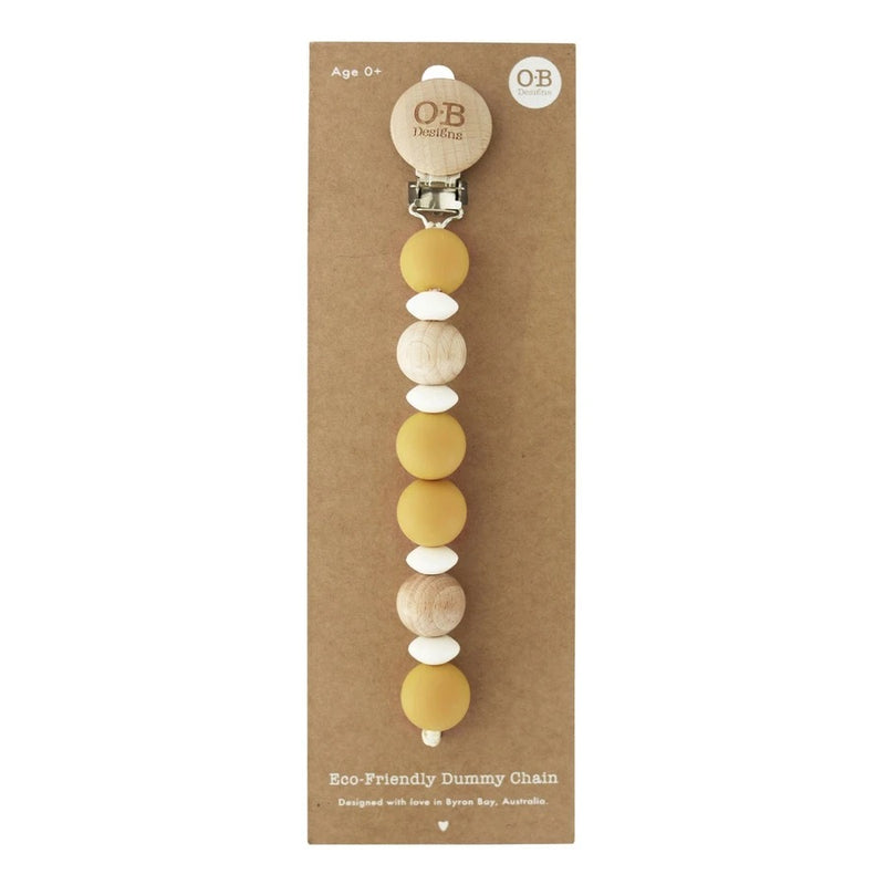 O.B Designs - Eco-Friendly Dummy Chain - Tumeric
