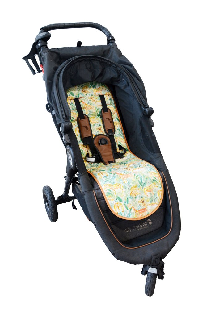 Livvy + Harry Luxe Pram Liner - Jungle Safari