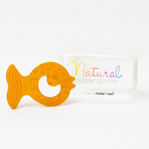Eco-Friendly Rattle | Organic Beechwood Silicone Toy - turmeric