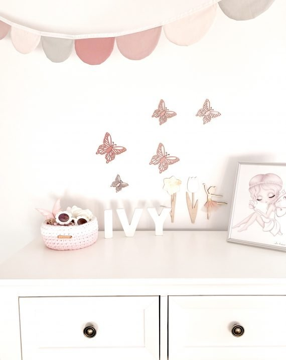 Ombre Butterfly Wall Decals