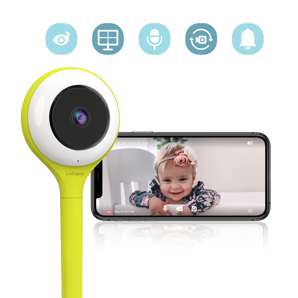 LolliPop Smart Baby Monitor - PRE ORDER FOR JULY 2020