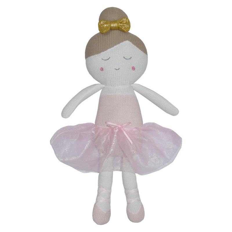 Living Textiles - Sophia The Ballerina Knitted Toy