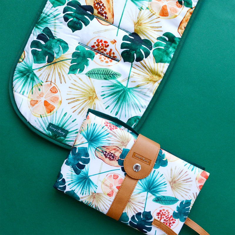 Livvy + Harry Luxe Pram Liners - Sunshine Fruit
