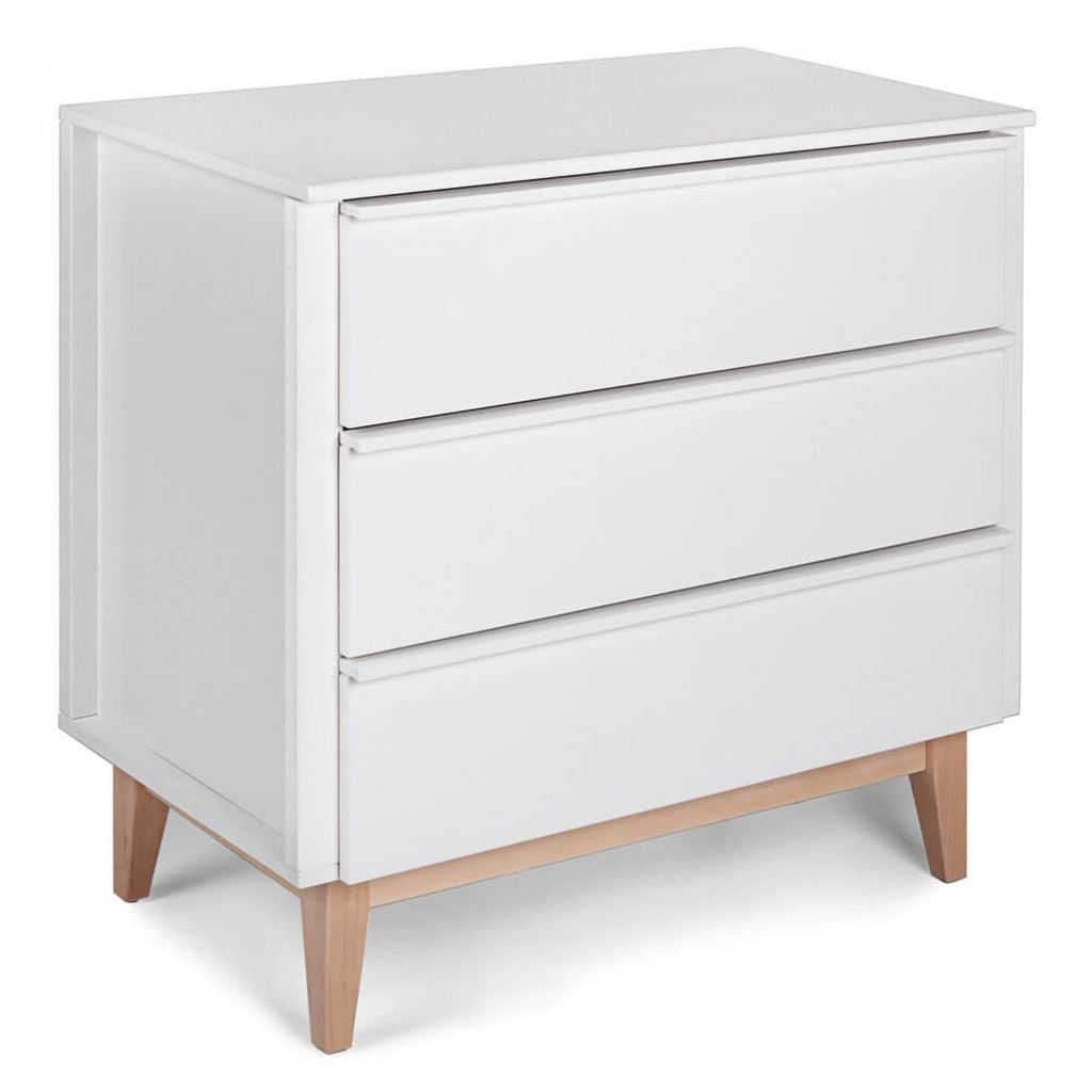 Troll Scandy Dresser - White with Natural Legs (PRE-ORDER FOR JANUARY 2021)